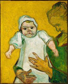 1888 Van Gogh Madame Roulin and Her Baby(MET N.Y.C.)ultra HD