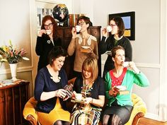 Book Club Ideas, Channel your Inner Vintage Librarian - group at library social