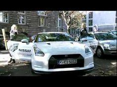 Nissan faz guerrilha em Porshes na Alemanha - Marketing Promocional