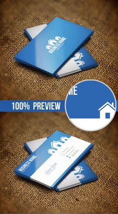 Real Estate Business Card #businesscards #businesscardsdesign