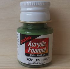 Pactra ACRYLIC PAINT - Marine Green (A32) for model-making and craft. by AllScalesModels on Etsy Unique Jewelry, Handmade Gifts, Green, Model, How To Make, Crafts, Painting, Etsy, Vintage