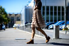 From New York to Paris, see a roundup of the very best street style looks from all of Fashion Month on wmag.com.