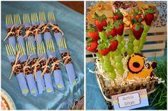 soooo many fun ideas for a safari party :)