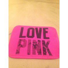 Victoria's Secret Love Pink laptop computer case Cute Love pink laptop case. PINK Victoria's Secret Other