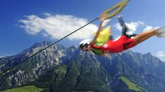 MAMA THRESL | FLYING FOX | URBAN SOUL MEETS THE ALPS | LEOGANG | SALZBURGER LAND | AUSTRIA |