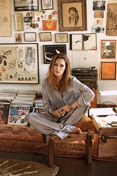 wall of found // erin wasson // gallery wall // boho decor.. I want to have a wall like this