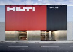 New signage of Hilti by Cso Arquitectura.