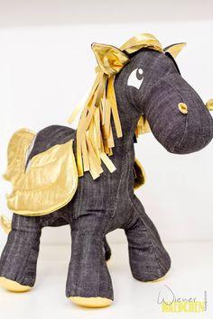 Nähanleitungen Kind - Aleksio eBook Pegasus (Pony) - in zwei Größen - ein Designerstück von Aleksio bei DaWanda #Pegasus