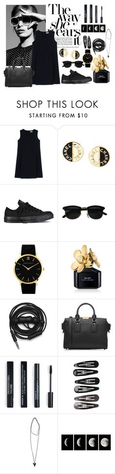 """""""#115"""" by winko1 ❤ liked on Polyvore featuring Jil Sander, Chanel, Converse, Larsson & Jennings, Marc Jacobs, Urbanears, Burberry, Korres, Clips and Givenchy"""
