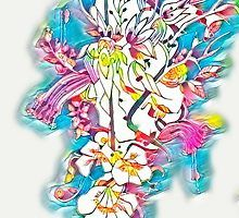 Abstract floral by jen28nart