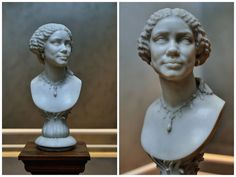 Bust of Mary Seacole Marble. by Henry Weekes in 1859. At the Getty Center, Los Angeles.