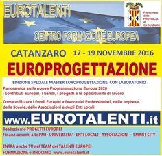 CATANZARO Master europrogettazioneper diventare europrogettista