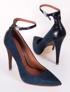sexy ankle strap stilettos