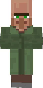 Minecraft Villager Face