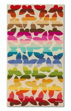 Missoni Home beach towel