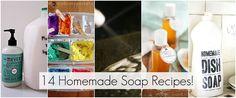 14 homemade household recipes!