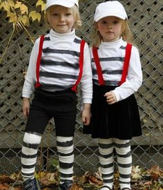 Tweedle dee and Tweedle Dumb costumes