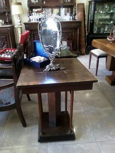 Art Deco Decor, Table, Furniture, Art Deco, Home Decor, Vintage, Dining, Dining Table