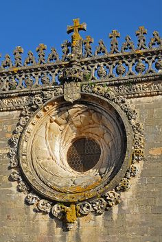 Convento de Cristo, Tomar detail  Portugal