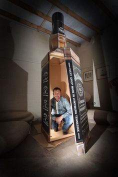 This Man Wants to Be Buried in a Jack Daniel's Bottle Coffin