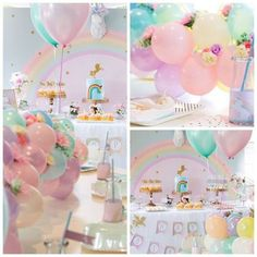 Little Big Company | The Blog: I believe in Unicorns Party by Kiss With Style