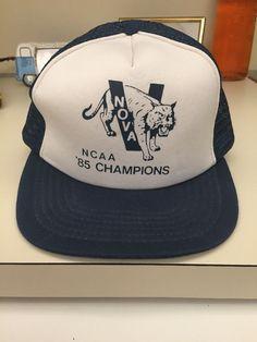 577c30d89fd vintage 1985 villanova ncaa national championship  Basketball hat vintage  from  24.99