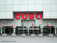 Cobo = 2 purposes. Cut through there to get to the JOe, or it live there pretty much for weeks on end during NAIAS.
