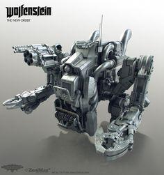 "Tor ""Snefer"" Frick´s art : Wolfenstein: The New Order artdump part 1"