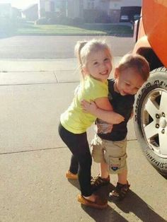 Aubree and Hunter (Megans son)