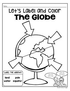 Maps and Globes (Supplemental Materials for Social Studies) Social Studies Projects, Social Studies Worksheets, Kindergarten Social Studies, Social Studies Classroom, Social Studies Activities, Teaching Social Studies, Student Learning, In Kindergarten, Teaching Maps
