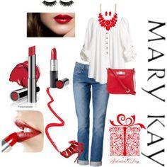 Pasión x el rojo... el color del movimiento. ..de la pasión. #pasion #rojo #marykay