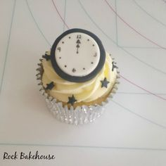 New Year Eve Cupcake Tutorial #cupcake #newyear