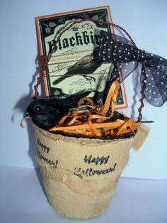 Vintage Halloween Decoration by VintageAnteUps on Etsy, $7.00