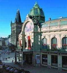Municipal House. Art Nouveau...