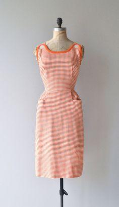25% OFF : Ice Cream Social dress vintage 1950s by DearGolden