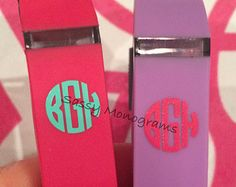 Glitter Fitbit Apple Watch Personalized by SassyMonogramAndMore
