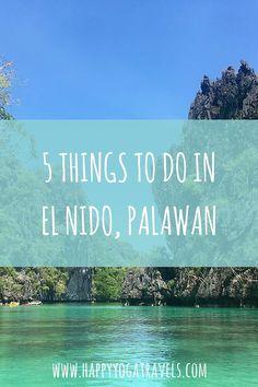 5 things to do in El Nido Palawan