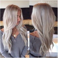 Cant get enough of this silvery blonde by Rheanna! Cant get enough of this silvery blonde by Rheanna! The post Cant get enough of this silvery blonde by Rheanna! appeared first on Frisuren Blond. Bleach Blonde Hair, Blonde Hair Looks, Brown Blonde Hair, Platinum Blonde Hair, Blonde Wig, Brassy Blonde, Blonde Color, Frontal Hairstyles, Cool Hairstyles