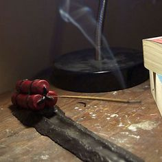 Dynamite Incense Holder