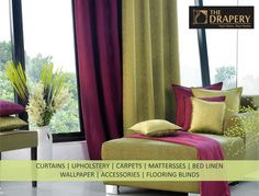 Shop from a wide range of in lots of materials and styles with or without tie-backs for living room at Drapery. Buy Curtains Online, Curtain Designs, Tie Backs, Drapery, Range, Windows, Doors, Living Room, Shopping