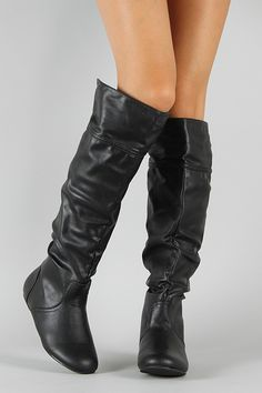 273e8ef43c Post-1 Slouchy Round Toe Knee High Boot