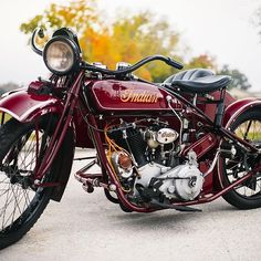 Steve McQueen's Indian Big Chief motorcycle that was designed by racer and engineer Charles B. Franklin as a flagship model for Indian MotorCycles and was personally restored by none other than the legendary Von Dutch (Kenny Howard) in 1969