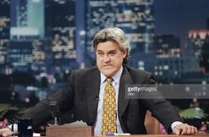 Host <a gi-track='captionPersonalityLinkClicked' href=/galleries/search?phrase=Jay+Leno+-+Television+Host&family=editorial&specificpeople=156431 ng-click='$event.stopPropagation()'>Jay Leno</a> during a segment on November 29, 1994 -- Photo by: Margaret Norton/NBCU Photo Bank