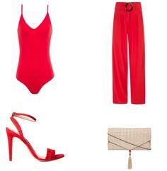 calça pantalona vermelha, moda, estilo, tendência, inspiração, looks, item da semana, item of the week, wide leg pants, fashion, style, inspiration, trend, outfits