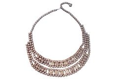 Weiss Collar Necklace on OneKingsLane.com..... I own a beautiful vintage Weiss pin and I love it.  B.