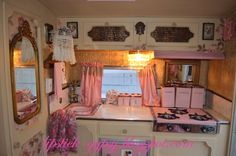 Redo on a trailer kitchen... oh the fun of building a vision for Chick A Dee! :-)