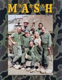 M*A*S*H   I would stay up and watch this with my mom every night waiting on my dad to get home from work
