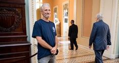 A new documentary follows Jon Stewart's relentless, decade-long fight to help 9/11 first responders - Upworthy Mike Lee, Jon Stewart, Mitch Mcconnell, The Daily Show, Just Run, Full House, Relentless, Walking By, Comedians