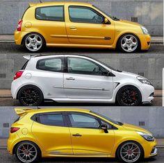 ¿Con cual os quedáis? Which one do you get? #dadriver #Renault #Clio @renault_esp