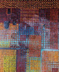 "Encaustic on Panel, 20"" X24"", Anna Wagner-Ott"